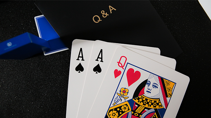 Q & A Jumbo Three Card Monte by TCC