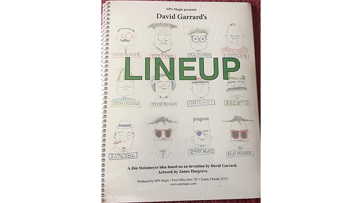 SPS Magic Presents David Garrard`s LINEUP