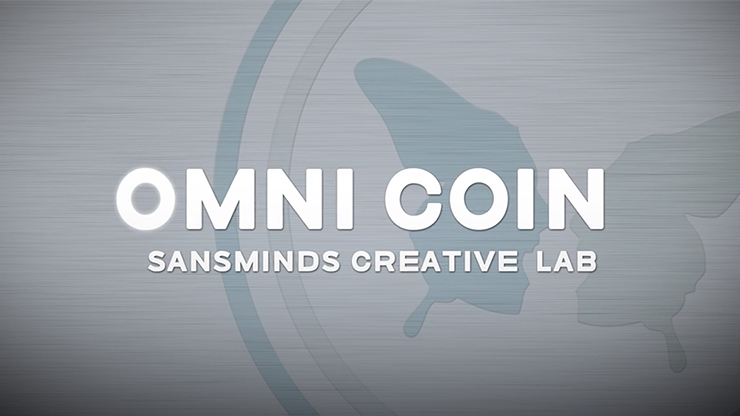 Omni Coin US version (DVD and  2 Gimmicks) by SansMinds