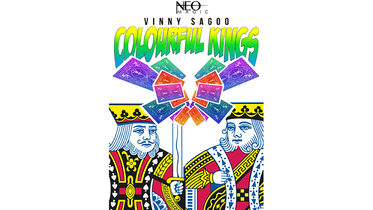 Colorful Kings by Vinny Sagoo