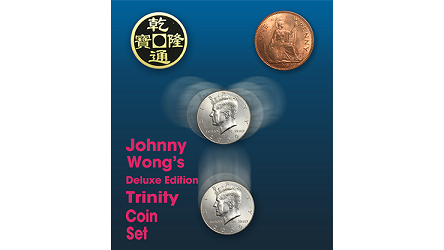 Deluxe Edition Trinity Coin Set  by Johnny Wong