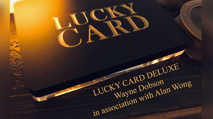 Lucky Card Deluxe by Wayne Dobson & Alan Wong*