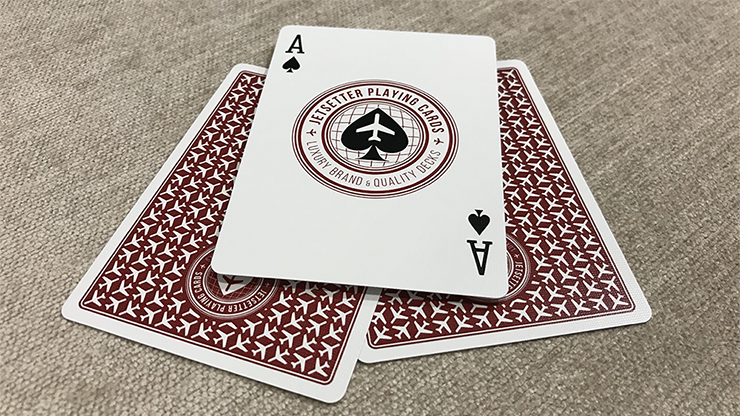Premier-Edition-in-Restricted-Red-by-Jetsetter-Playing-Cards