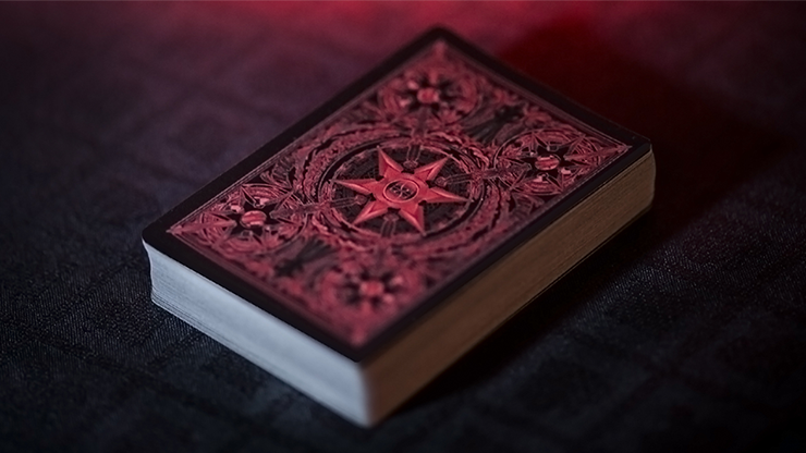 The Master Series - Blades Blood Moon by De`vo (Standard Edition) Playing Cards