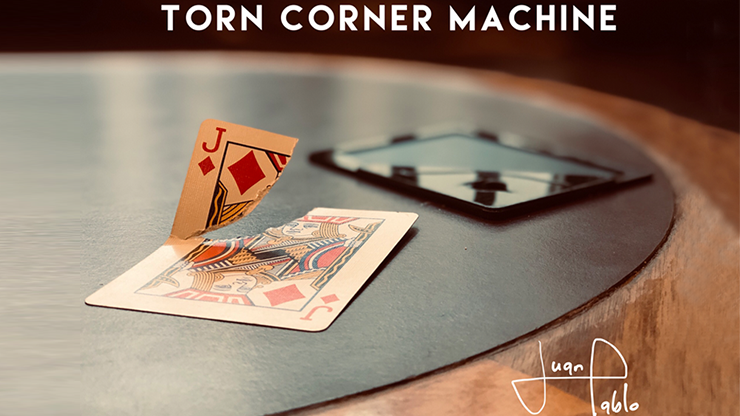 Torn Corner Machine (TCM) by Juan Pablo
