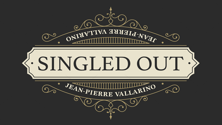 Singled Out RED by Jean-Pierre Vallarino