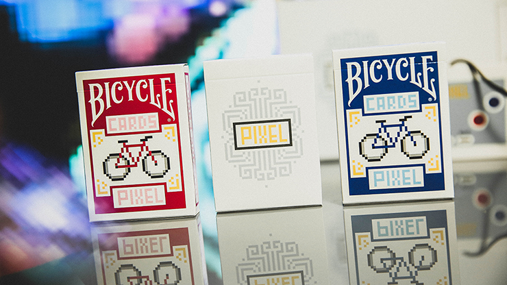 Bicycle-PIXEL-Playing-Cards-Collector-3-card-Set-By-TCC-Presents