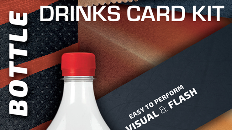 Drink Card KIT for Astonishing Bottle by Joao Miranda and Ramon Amaral
