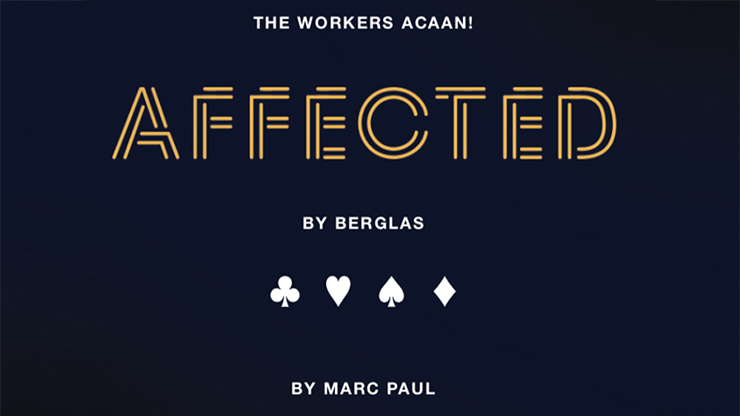 Affected by Berglas  by Marc Paul & Kaymar Magic
