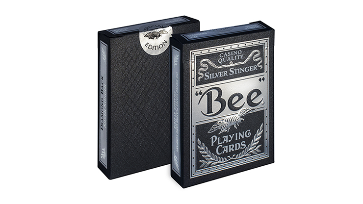 Bee-Silver-Stinger-Playing-Cards-by-USPCC