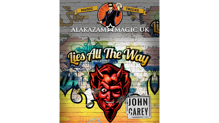 Lies All the Way by John Carey - Red