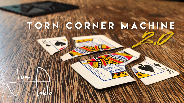 Torn Corner Machine 2.0 (TCM) by Juan Pablo
