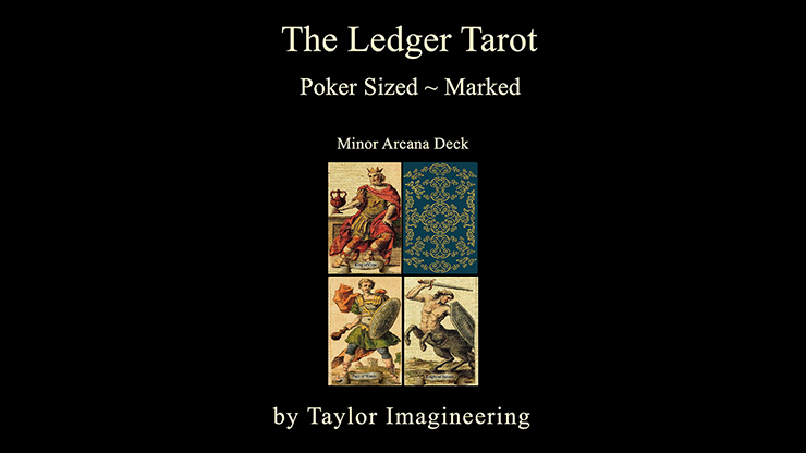 Ledger-Minor-Arcana-Deck-Poker-Sized-1-Deck-and-Online-Instructions-by-Taylor-Imagineering