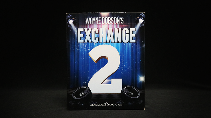 Waynes Exchange 2 by Wayne Dobson and Alakazam Magic