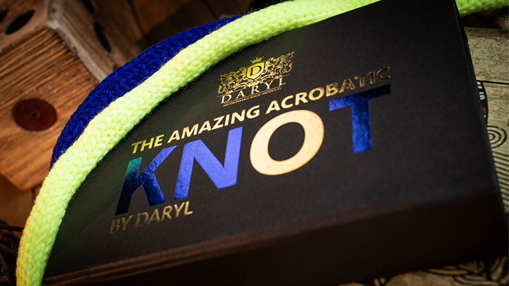 Amazing Acrobatic Knot Blue and Yellow by Daryl*