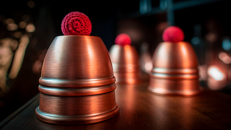 LEGEND-Cups-and-Balls-Copper/Aged-by-Murphys-Magic