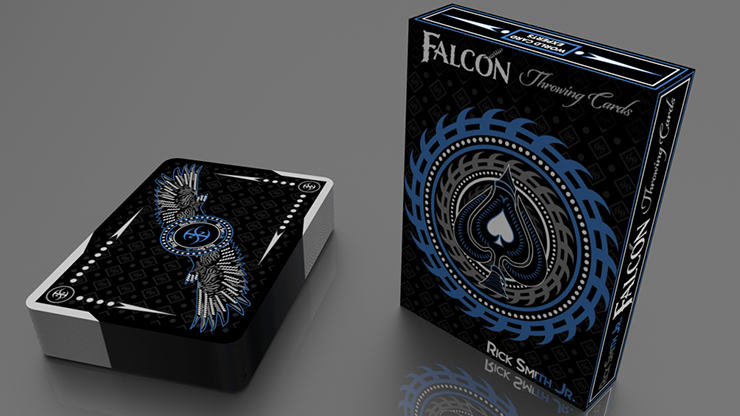 Silver Falcon Throwing Cards by Rick Smith Jr. and De`vo