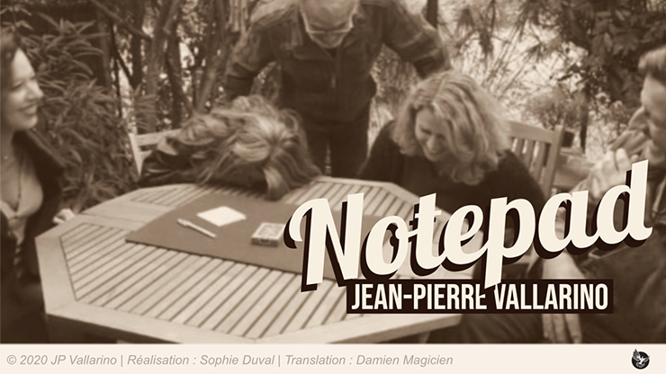 The Notepad by Jean-Pierre Vallarino