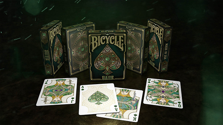 Bicycle Jade Playing Cards by Gambler`s Warehouse