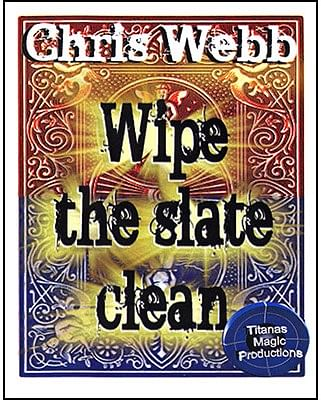 Wipe The Slate Clean by Chris Webb*