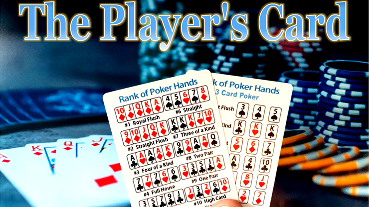 The Player`s Card by Paul Carnazzo