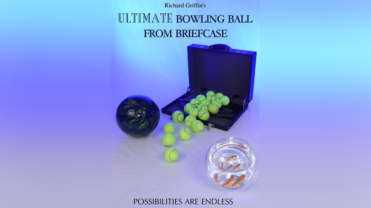 ULTIMATE BOWLING BALL FROM BRIEFCASE by Richard Griffin