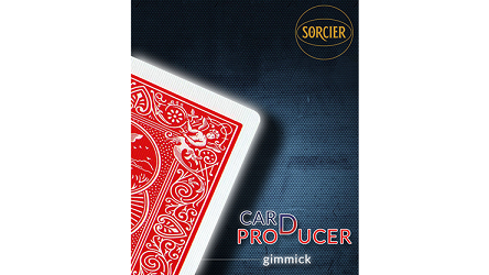 Card Production Gimmick by Sorcier Magic