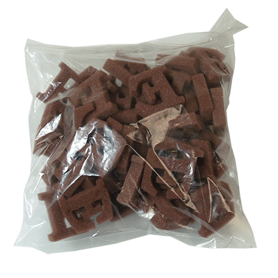Brown E`s (50 piece) by Magic by Gosh