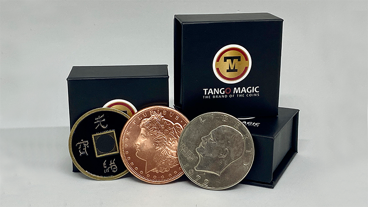 Triple TUC (Tango Ultimate Coin) Tricolor with Online Instructions by Tango