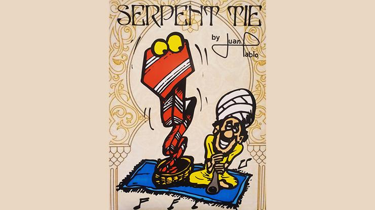 Serpent tie (Black) by Juan Pablo
