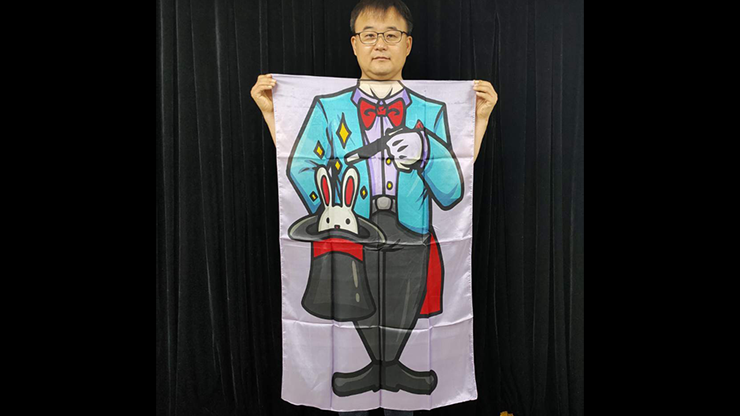 Character Silk (Magician) 35 X 43  by JL Magic