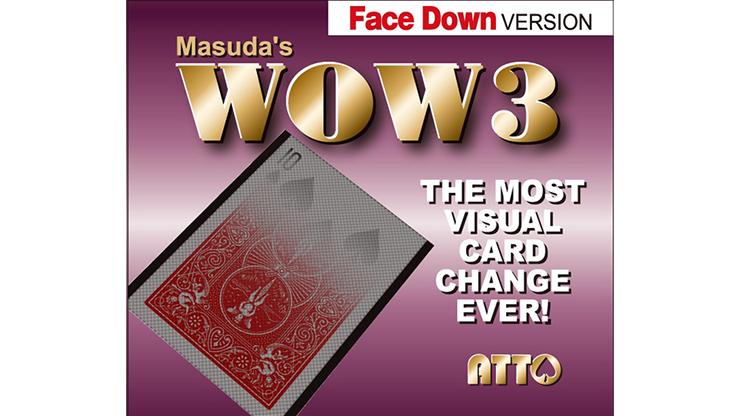 WOW 3 Face-DOWN by Katsuya Masuda