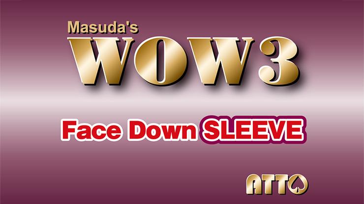 WOW 3 Face-Down Sleeve by Katsuya Masuda
