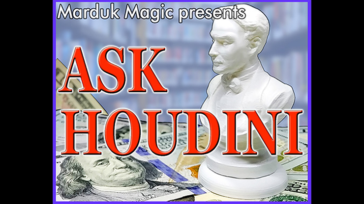 ASK HOUDINI by Quique Marduk and Juan Pablo Ibanez