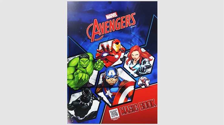 Magic Coloring Book (AVENGERS) by JL Magic