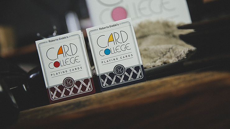 Card College Playing Cards by Robert Giobbi and TCC
