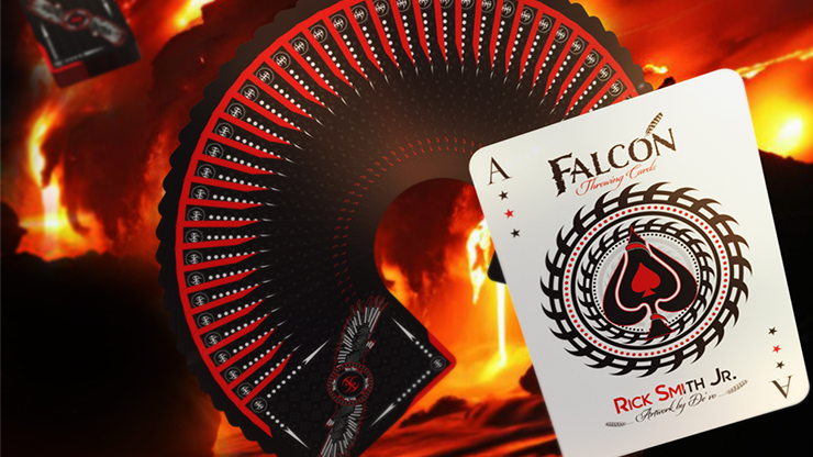 Falcon Razors Throwing Cards by Rick Smith Jr. and De`vo