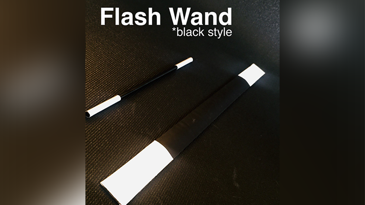 FLASH WAND (BLACK) by Victor Voitko