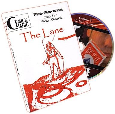 The Lane (DVD and Props) by Mickael Chatelain