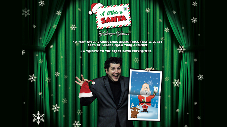 A LETTER TO SANTA! by George Iglesias & Twister Magic