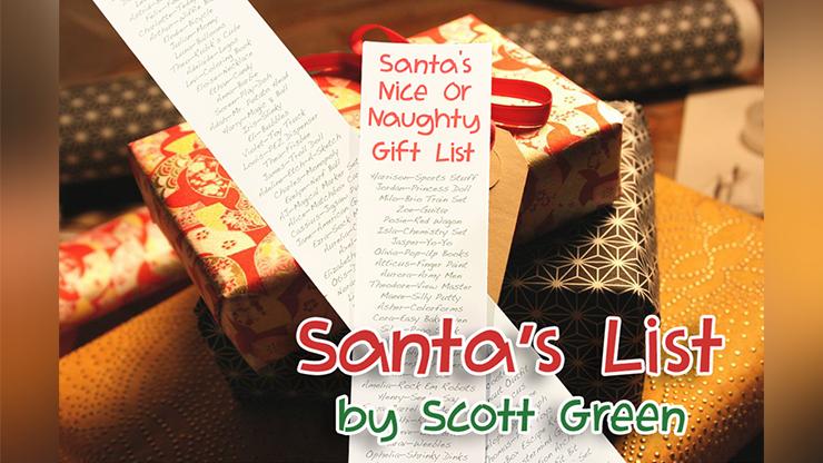 Santa`s List by Scott Green