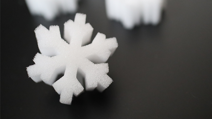 SNOWFLAKE SPONGES by Hugo Choi