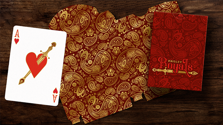 Paisley Royals Playing Cards by Dutch Card House Company
