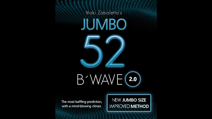 52 B Wave Jumbo 2.0 by Vernet Magic