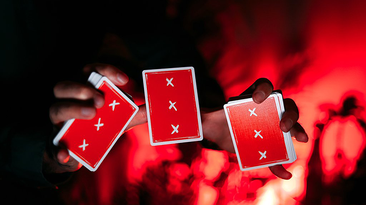 X-Deck-Red-Signature-Edition-Playing-Cards-by-Alex-Pandrea