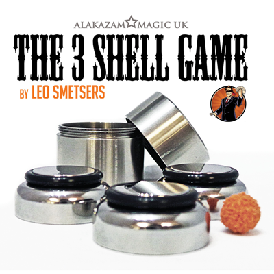 Three Shell Game (Gimmicks and Online Instructions) by Leo Smetsers and Alakazam Magic