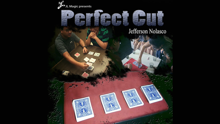 Perfect Cut Gimmick Deck by Jeff Nolasco and JL Magic