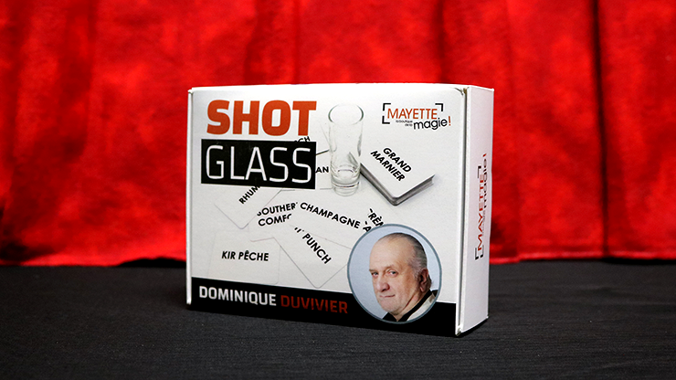 Shot Glass by Dominque Duvivier