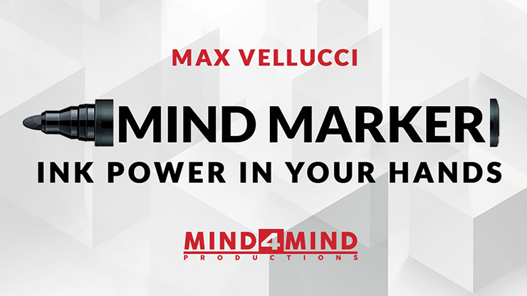 MIND MARKER by Max Vellucci