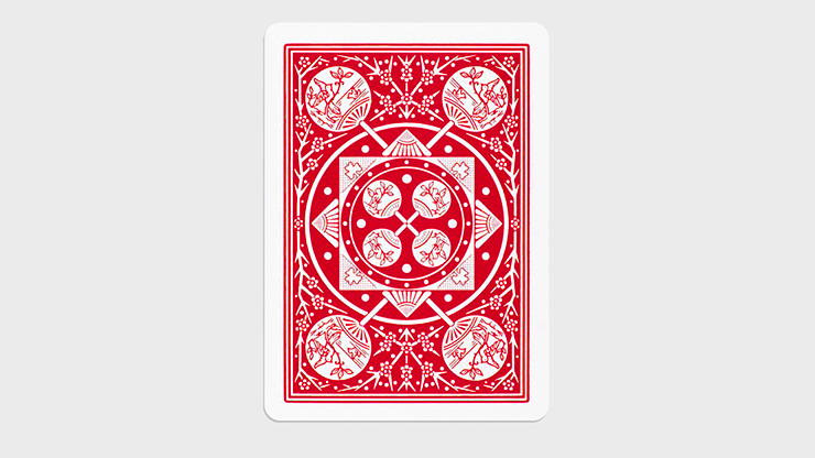 Tally Ho  Gaff Pack Red (6 Cards) by The Hanrahan Gaff Company